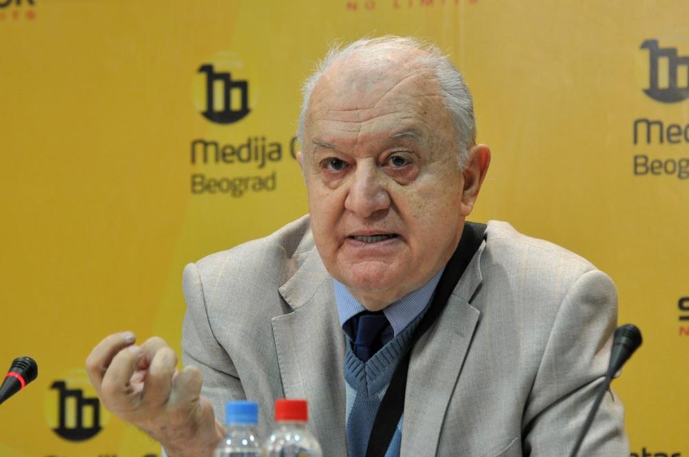 Vladimir Goati © Medija centar Beograd